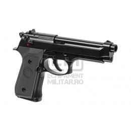 Pistol Airsoft GreenGas M9 V2 Full Metal GBB Black (WE)