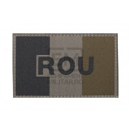 Patch Romania Flag RAL7013