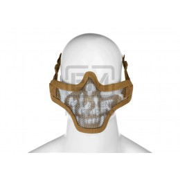 Masca Airsoft Invader Gear Death Head Tan