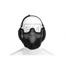 Masca Airsoft Invader Gear Steel Face Negru