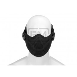 Masca Airsoft Invader Gear Lightweight Half Face Negru