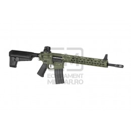 Pusca Replica Electrica Krytac Trident Mk2 SPR Full Power Foliage Green