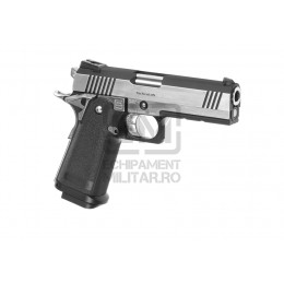 Pistol Airsoft Hi-Capa Dual Stainless GBB