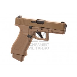 Pistol Airsoft Glock 19X Metal Version Co2